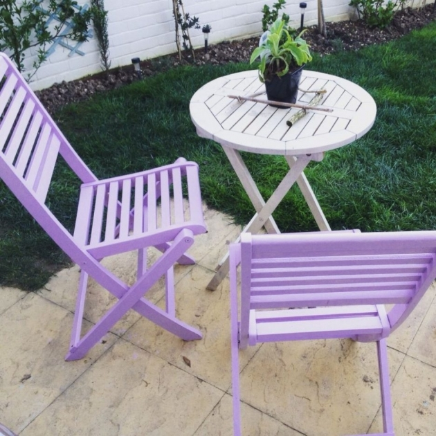 Splendid Purple Patio Chairs Photo