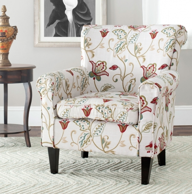 Splendid Red And White Accent Chair Ideas