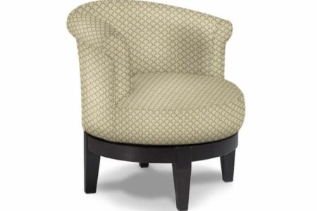 Round Swivel Accent Chair