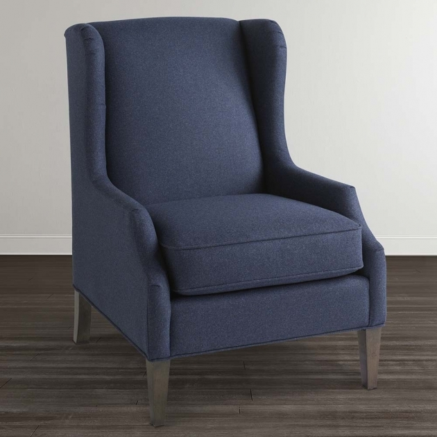 Stunning Navy Blue Accent Chairs Photo