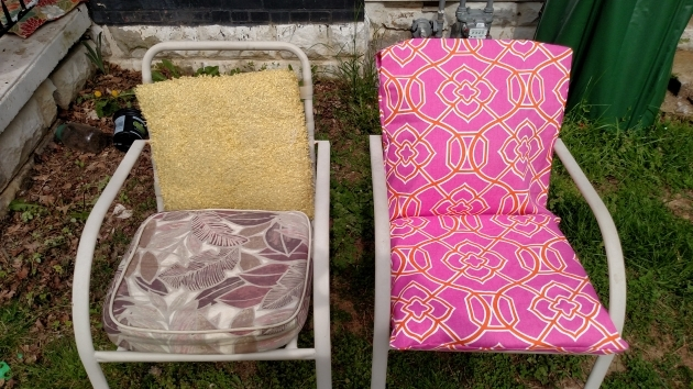 Stunning Recovering Patio Chair Cushions Photo