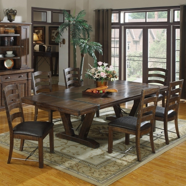 Stunning Rectangle Kitchen Table And Chairs Photos