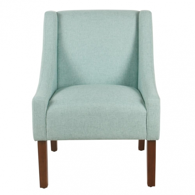 Stylish Aqua Accent Chair Picture