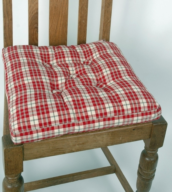 Stylish Country Kitchen Chair Cushions Photo