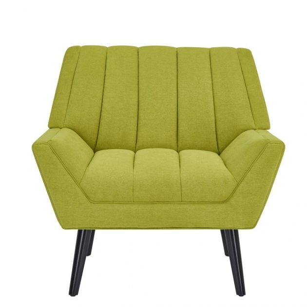Stylish Green Accent Chair With Arms Photos