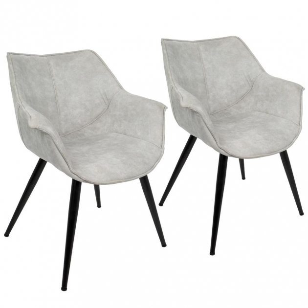 Stylish Light Grey Accent Chair Images