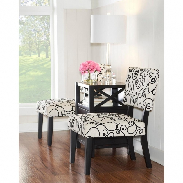 Top Black And White Accent Chairs Images