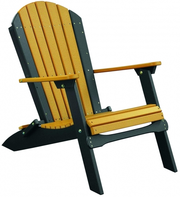 Top Living Accents Folding Adirondack Chair Pic