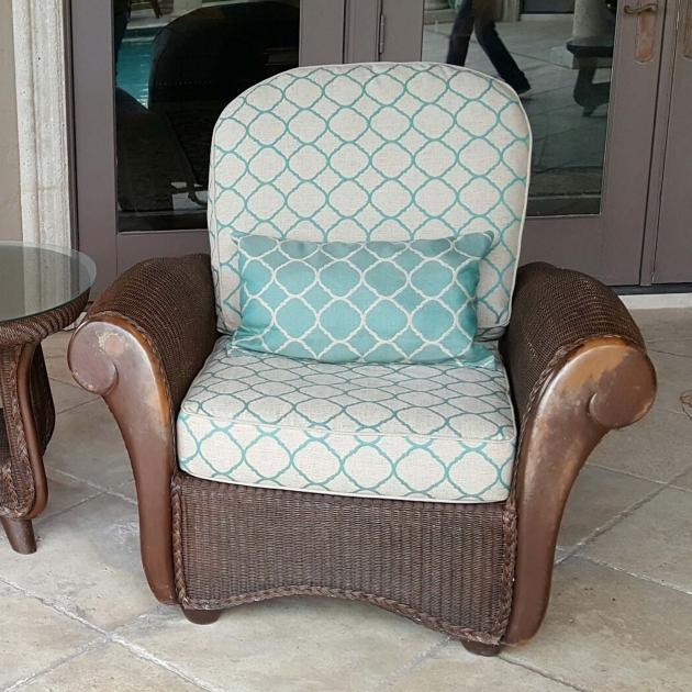 Unique Custom Patio Chair Cushions Image