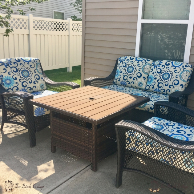 Unique Recovering Patio Chair Cushions Picture