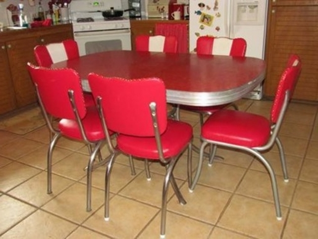 Unique Retro Kitchen Table And Chairs Canada Images