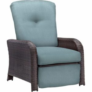 Wicker Reclining Patio Chair