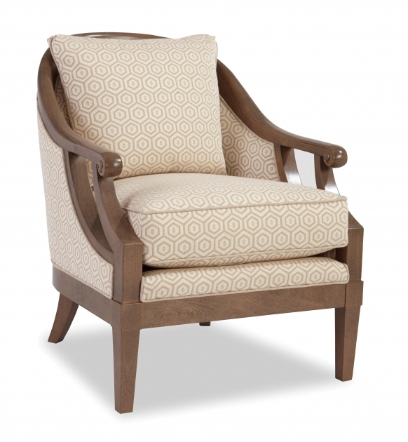 Unique Wood Frame Accent Chairs Pictures