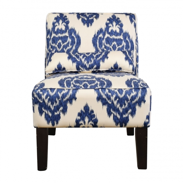 Wonderful Blue And White Accent Chair Images