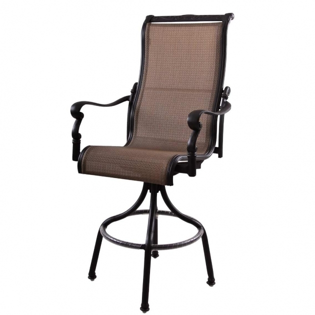 Wonderful High Back Sling Patio Chairs Pictures