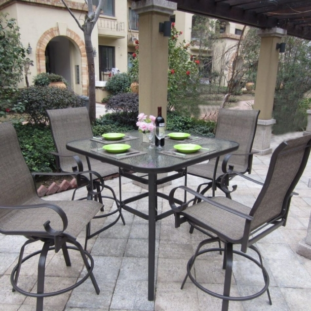 Wonderful Patio Tall Table And Chairs Ideas