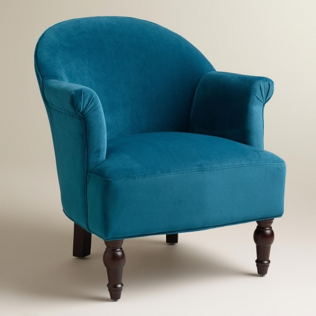 Wonderful Peacock Blue Accent Chair Ideas