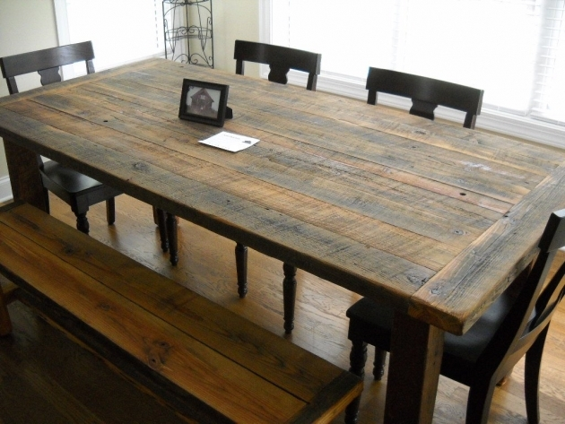 Wonderful Rustic Kitchen Tables And Chairs Image