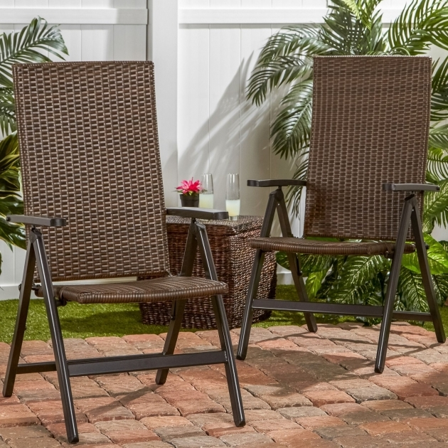 Wonderful Wicker Reclining Patio Chair Ideas